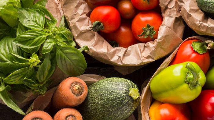 Hier findest du eine Auswahl an Gemüse. Diese variiert je nach Saison und Region.