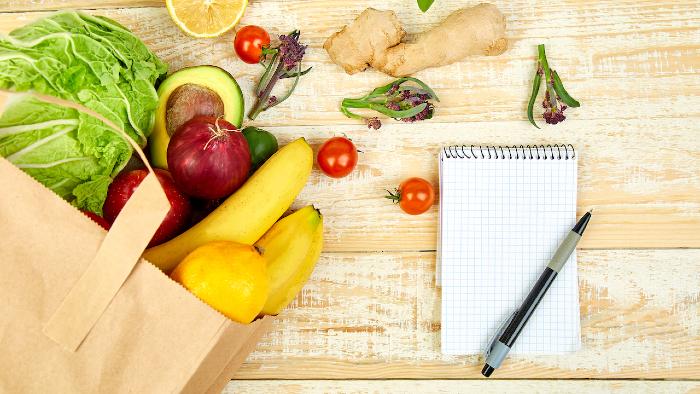 Die vegane Einkaufsliste - auch als PDF Download